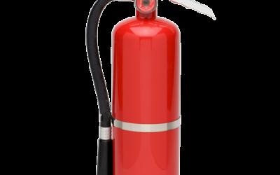 El timo de la revisión de extintores